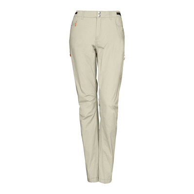 NORRONA - SVALBARD LIGHT COTTON - Pantalon Femme sandstone