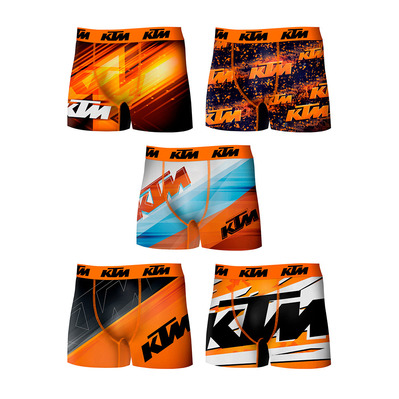 T275-1 - Boxers x5 Homme printed
