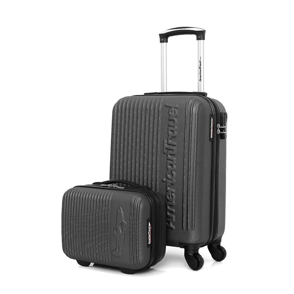 Revisión Lírico lanzador  ESPECIAL MALETAS American Travel NASHVILLE-H 11L/31L - Maleta + Vanity dark  grey - Private Sport Shop