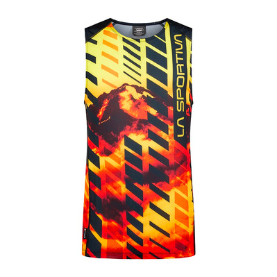 LA SPORTIVA - Slipstream Tank M Homme Black/Yellow