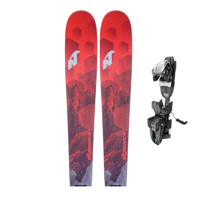 NAVIGATOR 80 CA FDT 18 - Skis all mountain Homme red + Fixations TP2 COMPACT 10 FDT black/anthracite
