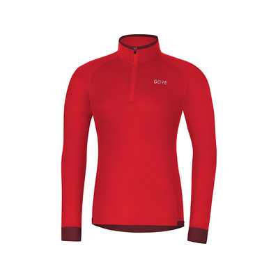 Wear M THERMO LIGHT - Maillot Homme red/chestnut red
