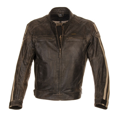 RETRO RACING - Blouson Homme brown