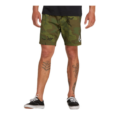 DEADLY STONES - Short Homme camouflage