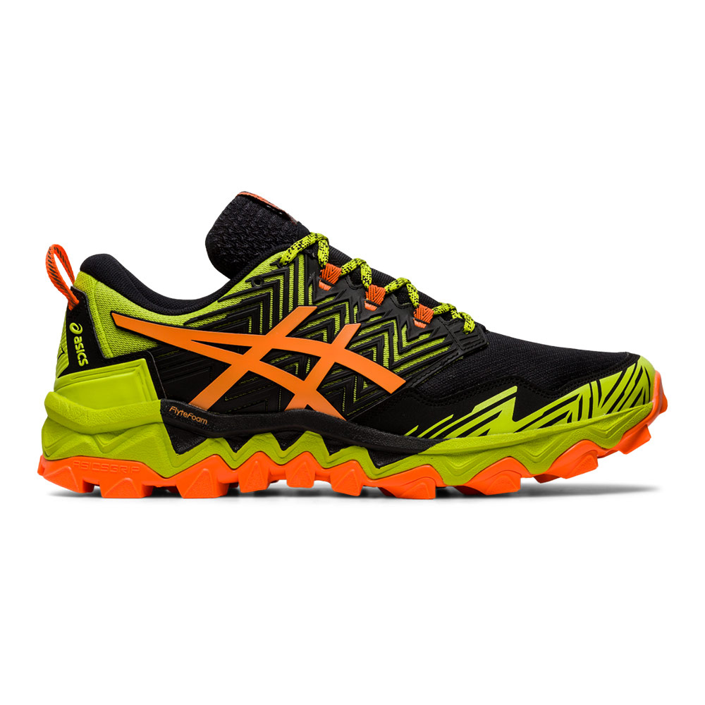 ASICS - Asics GEL-FUJITRABUCO 8 - Zapatillas de trail hombre neon lime/shocking orange