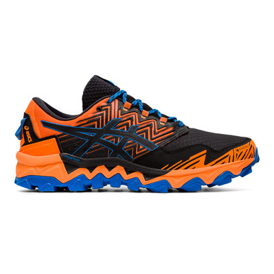 ASICS - GEL-FUJITRABUCO 8 GTX - Zapatillas de trail hombre shocking orange/black