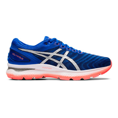 ASICS - GEL-NIMBUS 22 - Chaussures running Homme tuna blue/pure silver