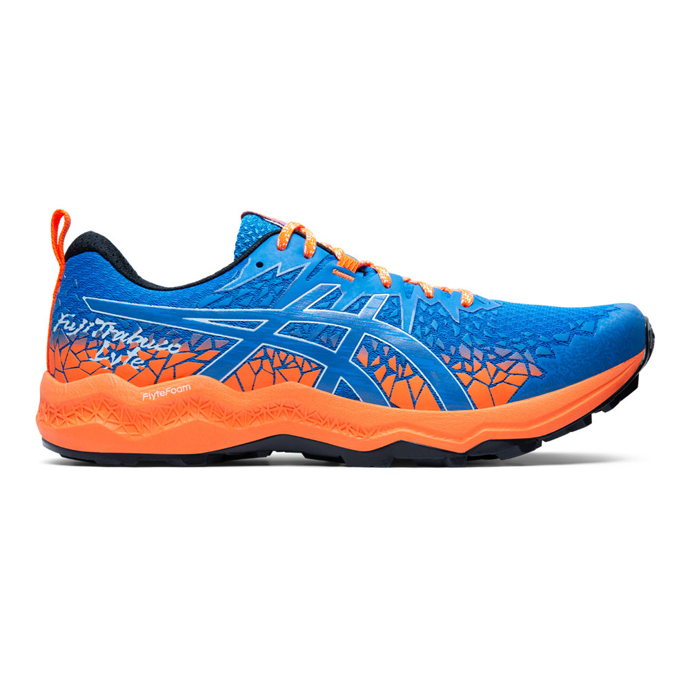 ASICS - Asics FUJITRABUCO LYTE - Zapatillas de trail hombre directoire blue/shocking orange