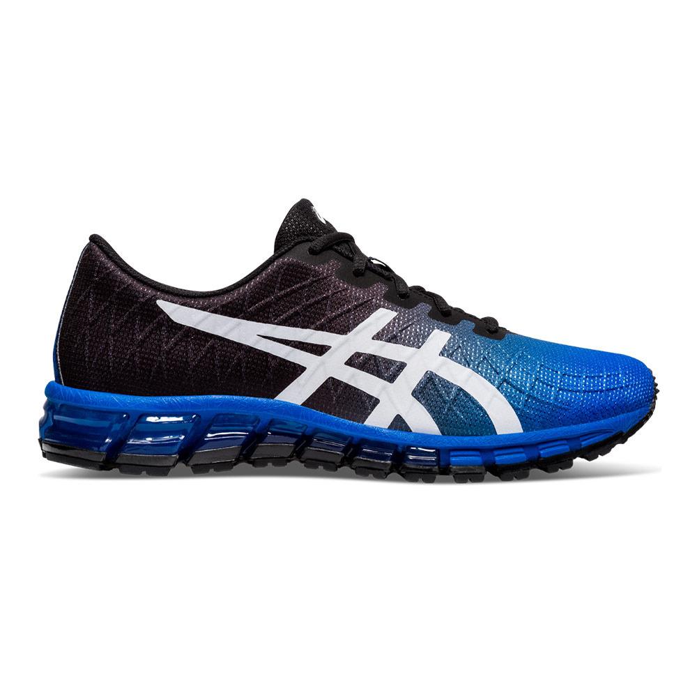 Asics GEL-QUANTUM 180 4 - Shoes - Men's - tuna blue/white ...