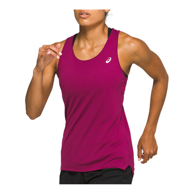 ASICS - SILVER TANK Femme DRIED BERRY