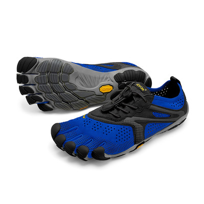 FIVE FINGERS - V-RUN - Zapatilla de running hombre blue/black