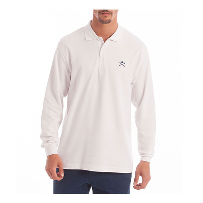 ACADEMY L - Polo Homme white