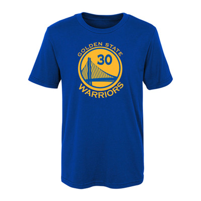 WARRIORS STEPHEN CURRY - Tee-shirt Junior royal
