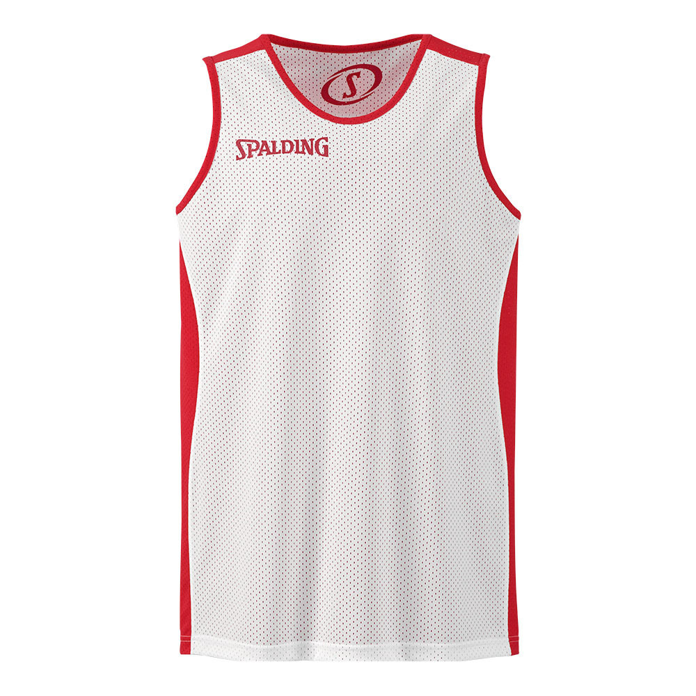 SPALDING Spalding ESSENTIAL Maillot réversible Junior red