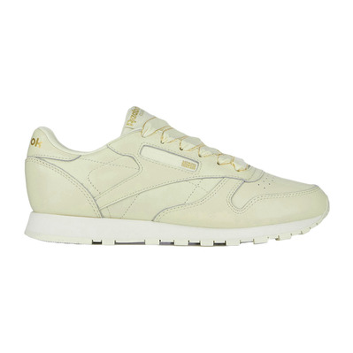 CLASSIC LEATHER SPRING CRUSH - Sneakers Femme beige