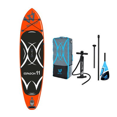 ESPADON 11' - Stand up paddle gonflable orange + accessoires