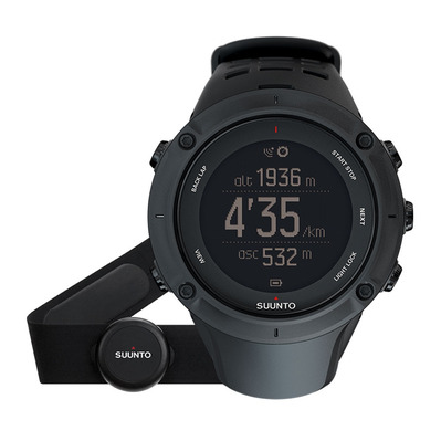 AMBIT3 PEAK HR - Montre connectée GPS black + Ceinture