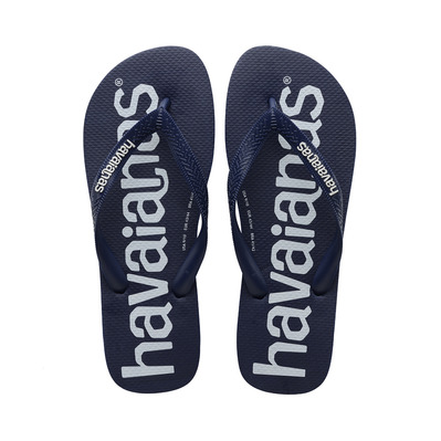 HAVAIANAS - TOP LOGOMANIA - Tongs Homme navy blue