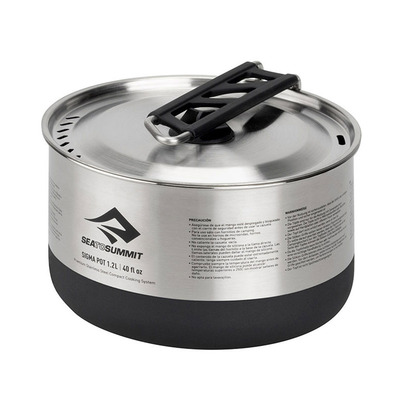SEA TO SUMMIT - SIGMA POT INOX 1.2L / Sigma Pot 1.2 Litre Unisexe Inox
