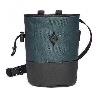 BLACK DIAMOND - MOJO CHALK - Sac à magnésie deep forest/slate