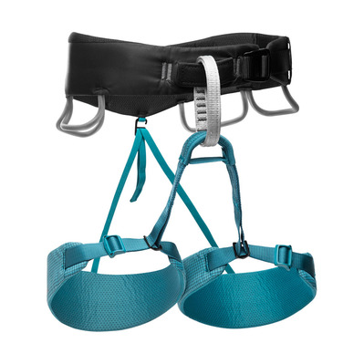 BLACK DIAMOND - MOMENTUM HARNESS - WOMEN'S Femme Aqua Verde