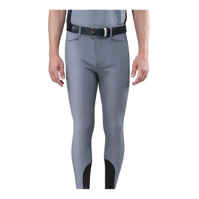EQUILINE - MEN'S KNEE GRIP BREECHES Homme STONE GREY