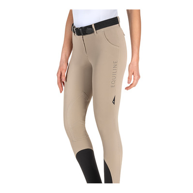 EQUILINE - CALAMITY - Pantalón mujer beige