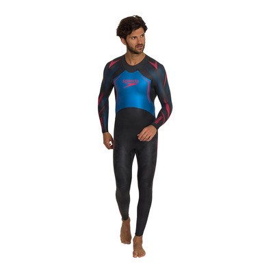 SPEEDO - XENON FULLSUIT - Suit - Men's - black/blue