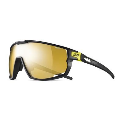JULBO - RUSH - Gafas de sol fotocromáticas black/yellow/gold flash