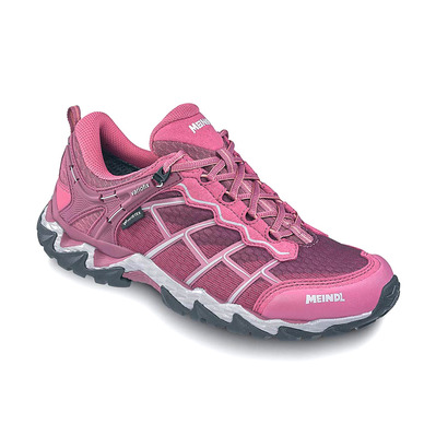 MEINDL - HOUSTON GTX - Zapatillas de senderismo mujer blackberry/grey