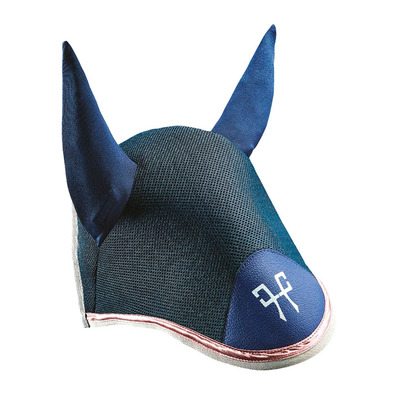 HORSE PILOT - AEROTECH - Bonnet anti-mouches navy/misty