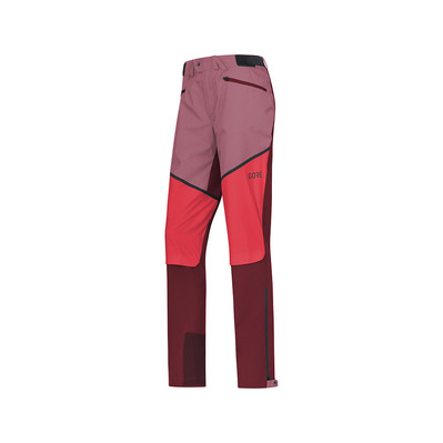 Wear H5 GORE® WINDSTOPPER® - Pantaloni ibridi Donna chestnut red/hibiscus pink