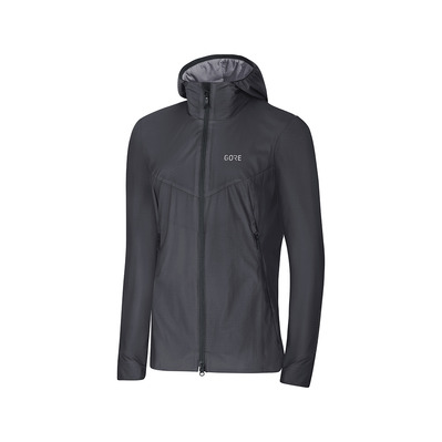 Wear H5 GORE® WINDSTOPPER® - Giacca Donna terra grey/black