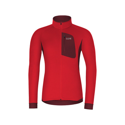 Wear M THERMO - Maglia Uomo red/chestnut red
