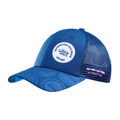 COMPRESSPORT - TRUCKER MONT BLANC 2020 - Casquette blue