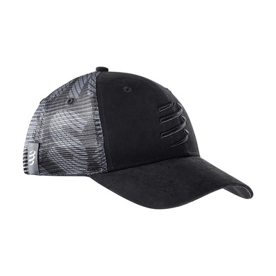 COMPRESSPORT - TRUCKER BLACK EDITION 2020 - Gorra black