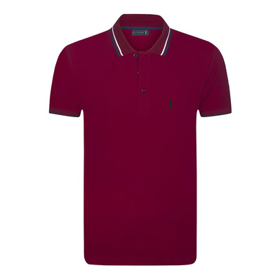 BEGINNING - Polo hombre burgundy