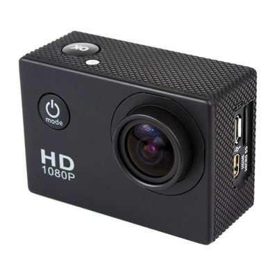 CAMHD - Action cam nero