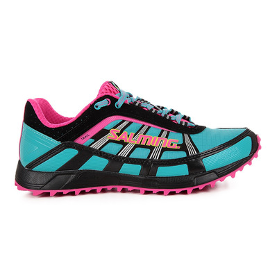 TRAIL T2 - Chaussures trail Femme turquoise/noir