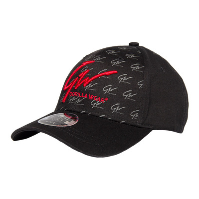 JULIAN - Gorra black/red