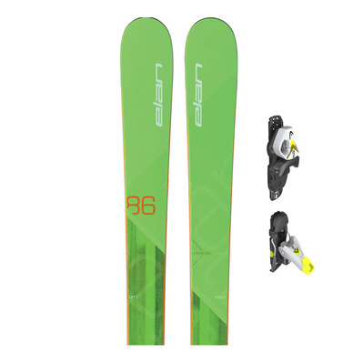 RIPSTICK 86 T - Esquís all mountain/freeride junior + Fijaciones SLR 7.5 GW AC solid black/white