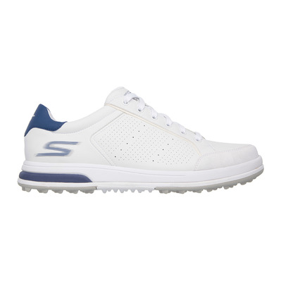 GO GOLF DRIVE 2 - Chaussures Homme white synthetic/navy trim