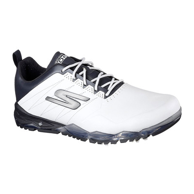GO GOLF FOCUS 2 - Chaussures Homme white synthetic/navy trim