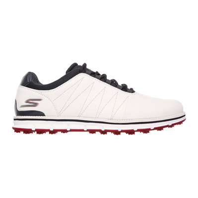 GO GOLF TOUR ELITE - Chaussures Homme white/navy leather/red trim