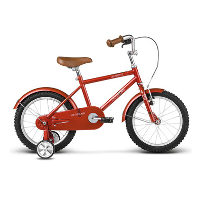 "GILBERT 16"" - Vélo à roulettes Junior red glossy"