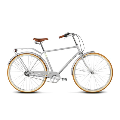 "WILLIAM 2 28"" - Vélo urbain Homme grey matte"