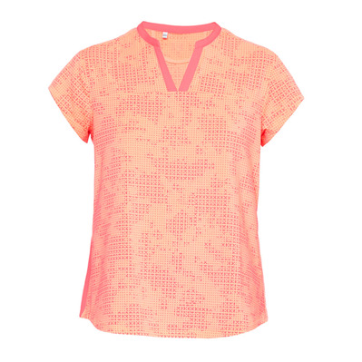 THREADBORNE PRINTED - Tee-shirt Femme brilliance