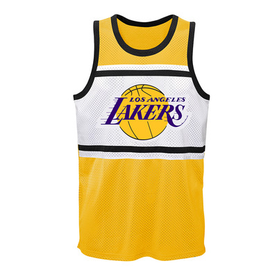 PLAYER SUBLIMATED SHOOTER LOS ANGELES LAKERS LEBRON JAMES - Camiseta de tirantes hombre team color