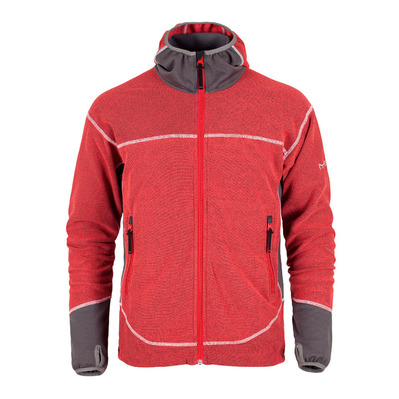CHITE - Polar hombre tomato red/dark grey