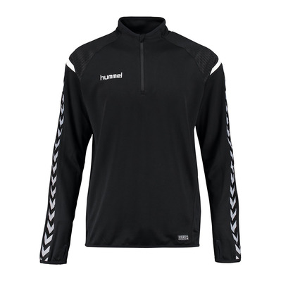 AUTHENTIC CHARGE 1/2 Z - Sweat Homme black